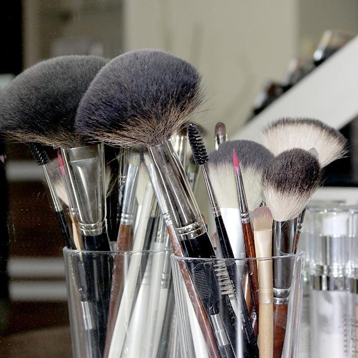 makijaż w salonie kosmetycznym